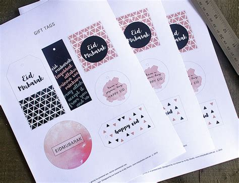 printable eid tags in my studio category eid decorations
