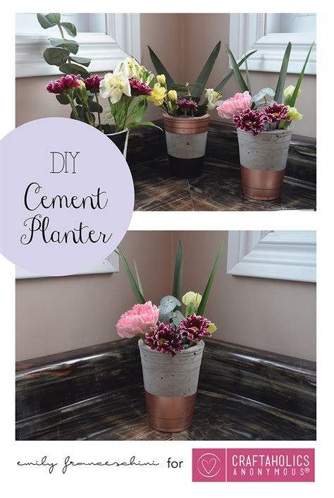 Handmade Planters - craftaholics anonymous 174 diy cement planters using