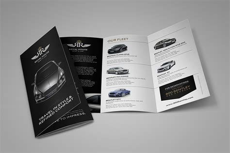flyer design dubai royalhouse dubai logo brochure design by fahad khalid