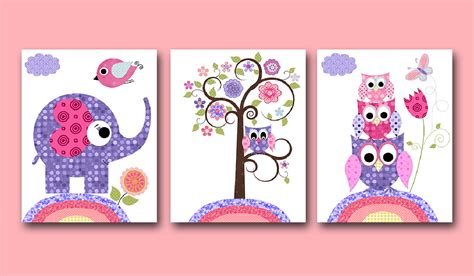 Owl Nursery Decorations Owl Decor Owl Nursery Baby Nursery Nursery Wall