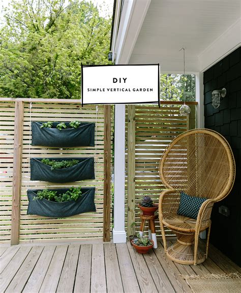 Vertical Garden Design Diy Diy Vertical Garden With Burpee Home Gardens