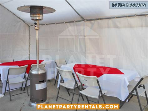 Outdoor Patio Heater Rentals With Propane Tank Balloon Rent A Patio Heater