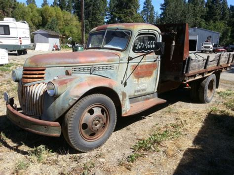 1944 Chevrolet Truck 1944 Chevrolet Dump Truck War Year Clear Title From