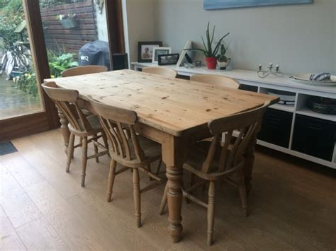Pine Kitchen Tables For Sale Kitchen Table Pine And Chairs For Sale In Rathmines Dublin From Tarabh