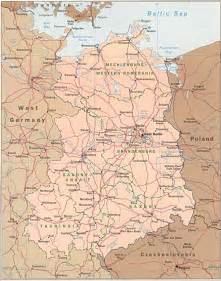 West Germany Map by East Germany Map Free Printable Maps