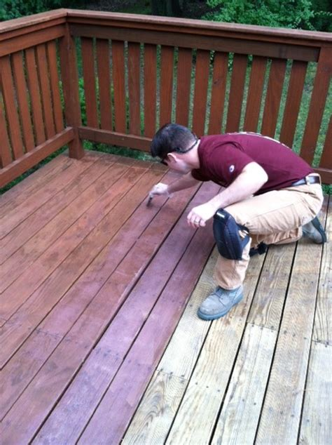 stain  deck  thompsons waterseal  concord