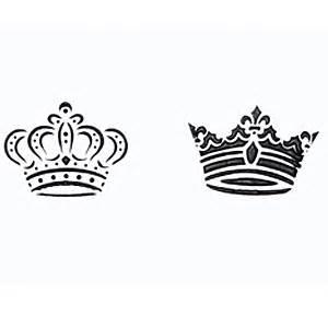 printable crown stencil royal crowns cookie stencils wedding themes pinterest
