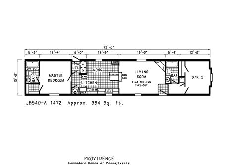 Floor Plans For Mobile Homes Single Wide by Manufactured Homes Mobile Single Wide Floor Plans