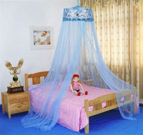 Frozen Bed Canopy Housweety Blue New Sequins Curtain Dome Bed Canopy Netting Mosquito Net Outdoor Canopies