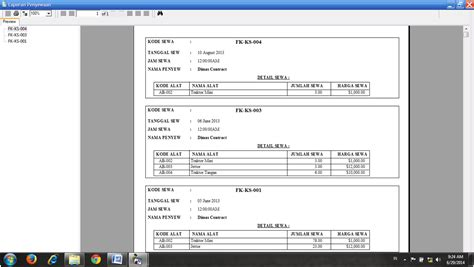 contoh laporan visual basic source code program rental alat berat contoh program