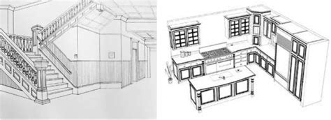 how to draw interior design what is annotated perspective drawing annotated
