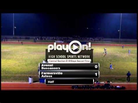 2013 cif central division vi boys soccer final  avenal vs