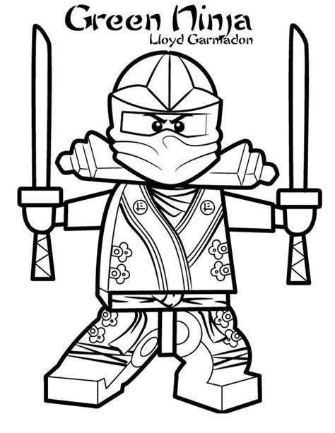 Ninjago Green Coloring Pages Lloyd Garmadon Ninjago Green Ninja Coloring Page Lloyd by Ninjago Green Coloring Pages