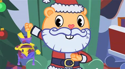 mondo s happy tree friends celebrate christmas animation