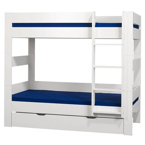 bunk beds with drawers uk london white bunk bed with drawer free delivery fads