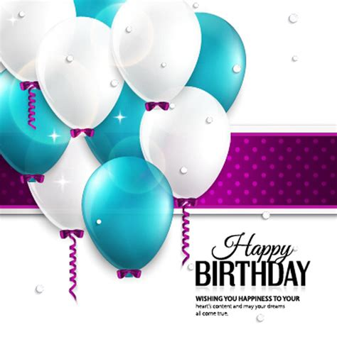 balloon card template 40 free birthday card templates template lab