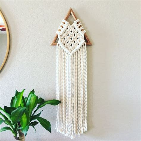triangle macrame pattern 17 best images about micro macrame wall art on pinterest