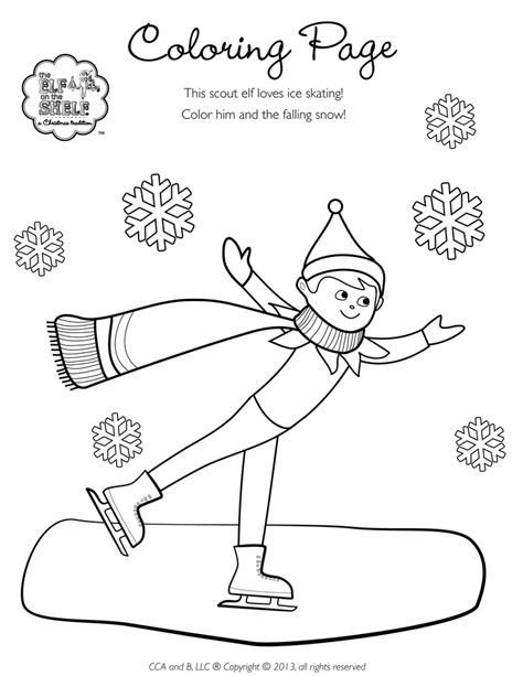 tiny elf on the shelf coloring pages 9 best elf on the shelf coloring images on pinterest
