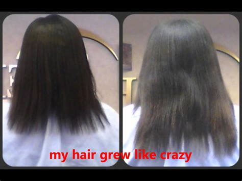wild growth hair oil before and after gro aut oil before after youtube