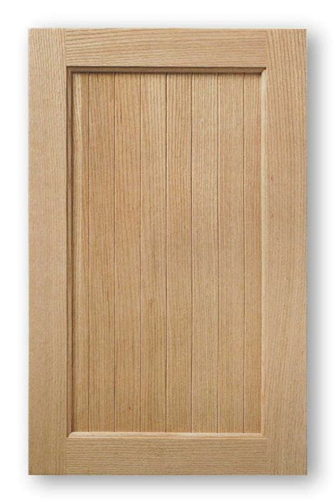 unfinished wood cabinet doors solid wood vee groove panel cabinet door madison