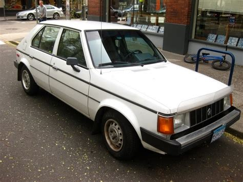 plymouth hatchback parked cars 1986 plymouth horizon