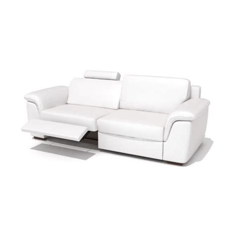 reclining modern sofa modern reclining leather sofa 3d model cgtrader