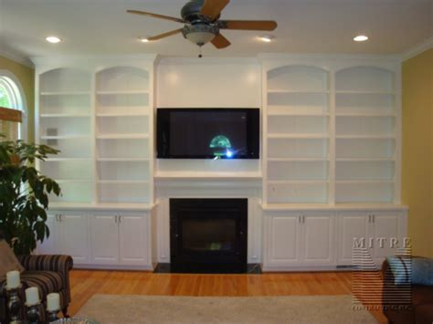 built  bookshelves plans  fireplace  woodworking