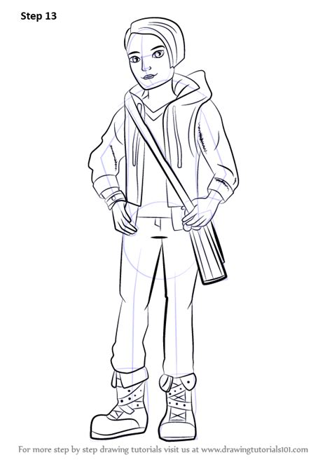 ever after high coloring pages dexter charming learn how to draw hunter huntsman from ever after high