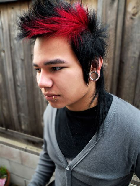 hairstyles red and black hair hair color trends and ideas for men mens craze