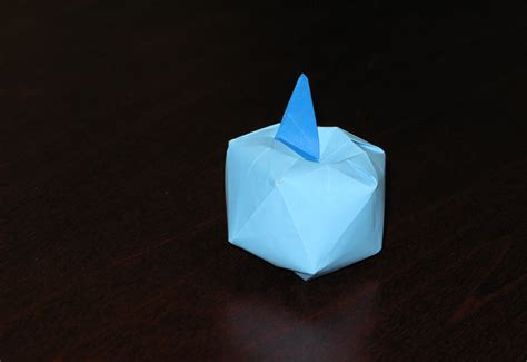 Apple Origami - a real apple origami osolabs