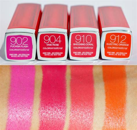 Lipstik Maybelline Vivids maybelline color sensational vivids lipstick beautylab nl