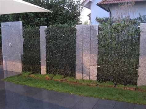 Gartengestaltung Sichtschutz Beispiele by Gartengestaltung Stuber Zaunanlagen Und Sichtschutz