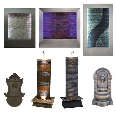 Indoor Waterfall Home Decor Wall Water Indoor Waterfall Decor Wall Mounted Changing Color Ebay