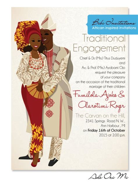wood wedding invitation in nigeria for tradition wedding traditional wedding invitation cards in nigeria wedding