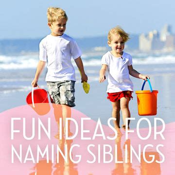 Theme Names For Siblings | fun ideas for naming siblings fit pregnancy and baby