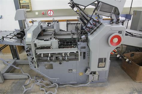 Stahl Paper Folding Machine - folders used finishing machines stahl kd 66 6ktl paper