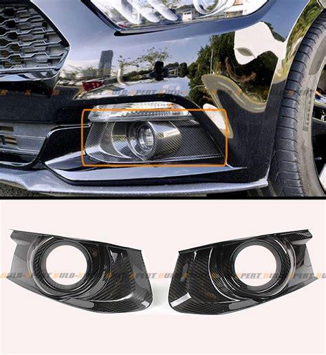 2015 mustang fog lights 2015 2016 ford mustang gt carbon fiber front bumper fog