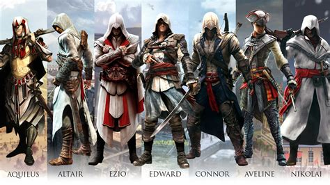 assassin s ubisoft has a rough idea how the assassin s creed series