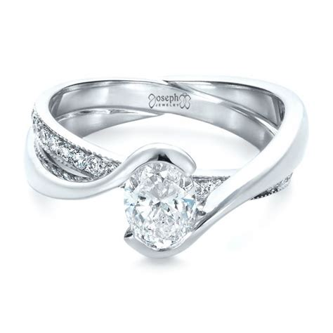 custom interlocking engagement ring 1437 seattle