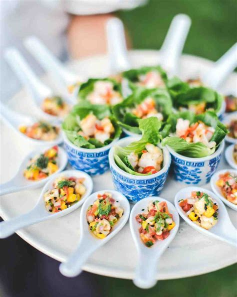 25 wedding food ideas your guests will martha stewart weddings