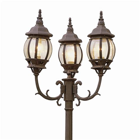 Outdoor Lantern Post Lights Solar Powered Outdoor Lighting Fixtures Solar L Posts Home Depot Solar L Post Lights