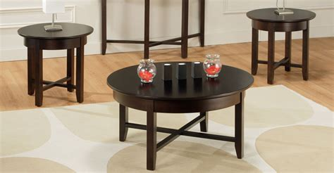 Demilune Coffee Table Set Millbank Family Furniture Living Room Coffee Table Sets