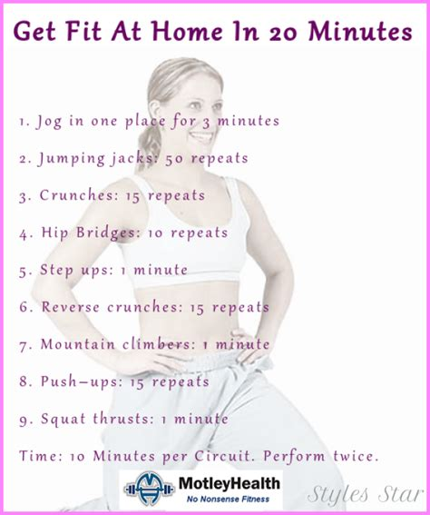 10 beginners exercise routine for weight loss at home