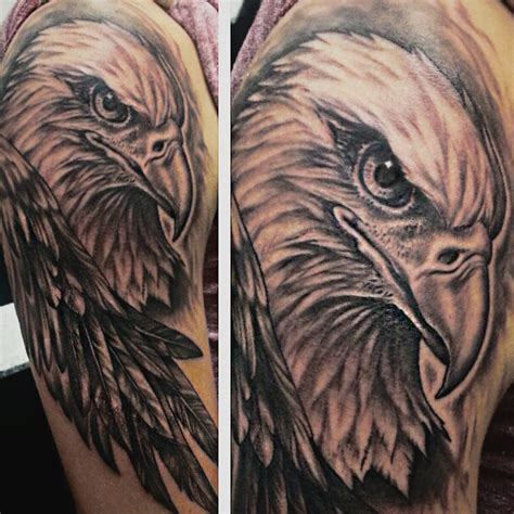 eagle quarter sleeve tattoo eagle halfsleeve tattoo by joshing88 on deviantart