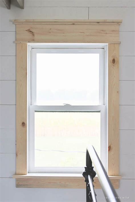 modern window trim diy modern farmhouse projects decorating your small space
