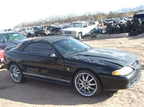 1996 mustang cobra parts used 1996 ford mustang cobra rear bumpers for sale