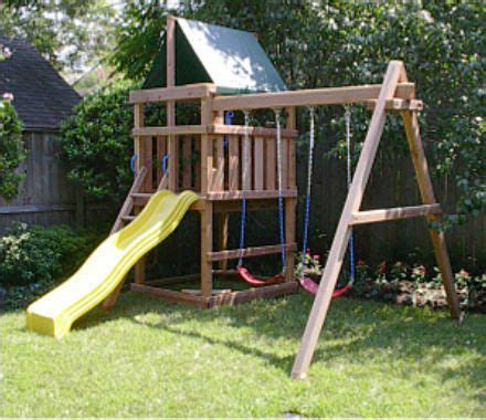 swing set designs 14 best images about diy outdoor play items swings