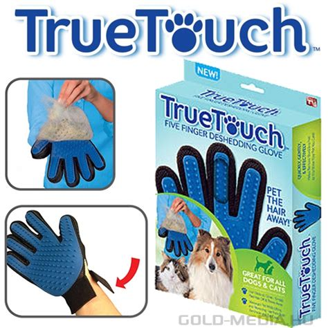 true touch deshedding glove kutya macska massz 225 zs