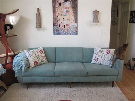 blue corduroy couch steph s turquoise corduroy vintage sofa violla thanks