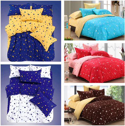 star bedding 13 kinds of print moon and star bedding sets bedsheet home